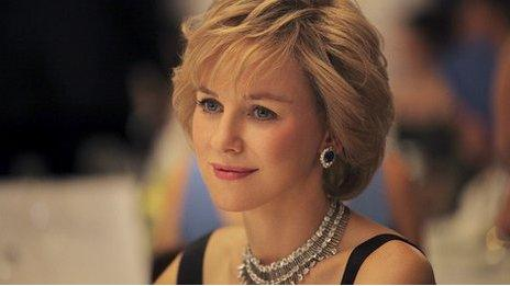 Naomi Watts as Princes Diana