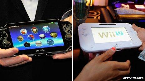 PS Vita and Wii U