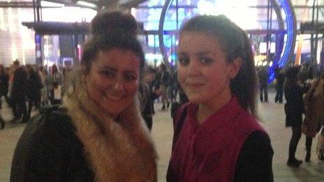 Lauren and Izzy