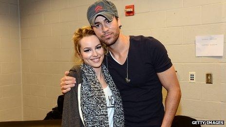 Bridgit Mendler and Enrique Iglesias
