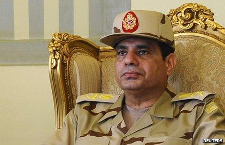 Gen Abdul Fattah al-Sisi,