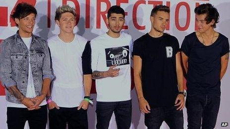 Louis Tomlinson, Niall Horan, Zayn Malik, Liam Payne, Harry Styles - One Direction