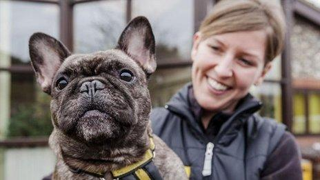 Kate Brewster, Support Officer at the Dogs Trust