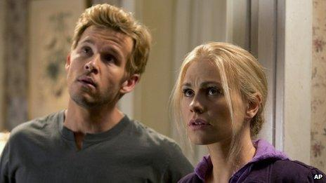 Ryan Kwanten and Anna Paquin
