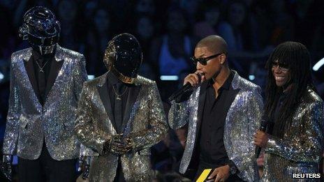 Daft Punk, Pharrell Williams and Nile Rodgers