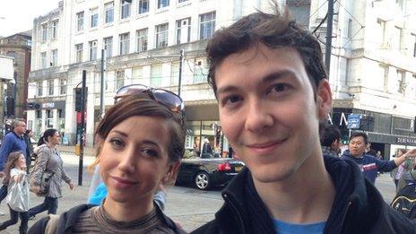 Jessica Latimer, 24, and John Segwin, 31