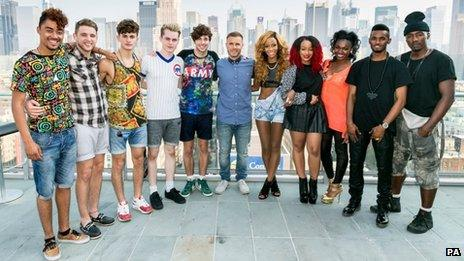X Factor groups