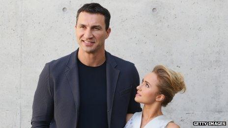 Hayden Panettiere and Wladimir Klitschko