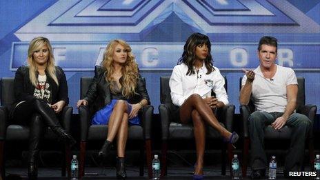 X Factor USA judges