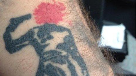 Alfie tattoo
