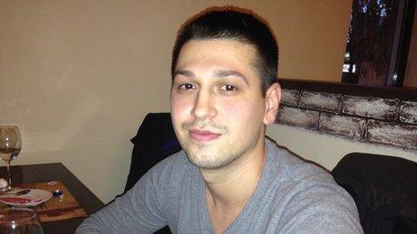 Cosmin, 24, plans to move to his aunt's house in Bristol