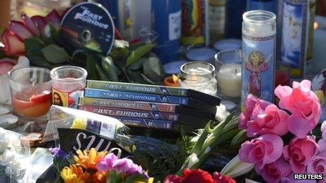 Tributes to Paul Walker