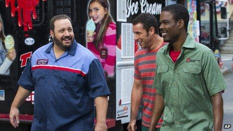 Kevin James, Adam Sandler and Chris Rock