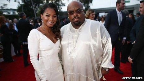 Cee Lo Green and daughter