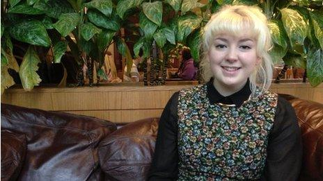 Becky Brunskill, 18, member of Youth Parliament for Liverpool