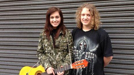 Jess and Tommy, 16, from Liverpool