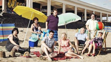 The cast of Gavin & Stacey