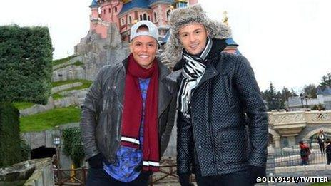 Jaymi Hensley and his boyfriend Olly Marmon