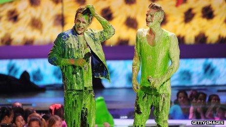 Austin Mahone and Cody Simpson