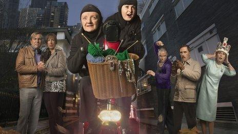 Gangsta Granny cast