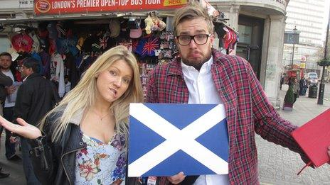 Shona and Iain Stirling
