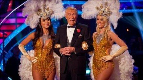 Sir Bruce Forsyth on Strictly Come Dancing