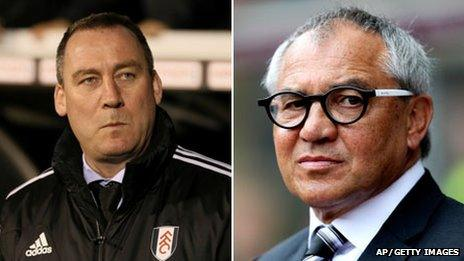 Rene Meulensteen and Felix Magath