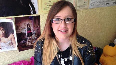 16-year-old Rebecca Parkin has suffered from physical and verbal bullying for ten years