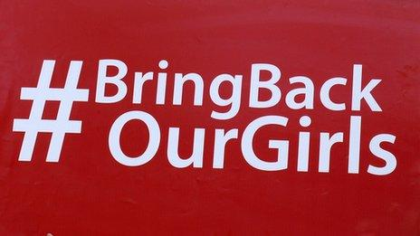 Sign saying Bring Back Our Girls