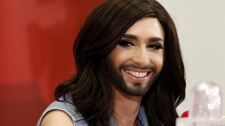 Eurovision winner Conchita Wurst