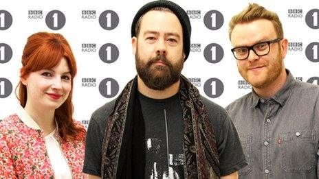 Alice Levine, Daniel P Carter and Huw Stephens