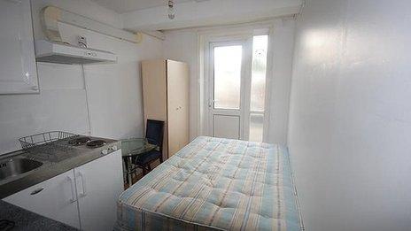 tiny london studio flat taken off market by council bbc newsbeat