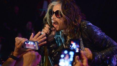 Steven Tyler from Aerosmith