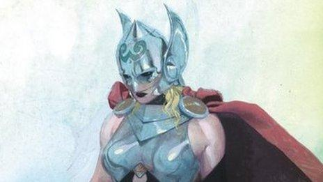 Marvel announce new female Thor character