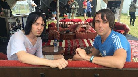 The Cribs tell Newsbeat about changing record labels