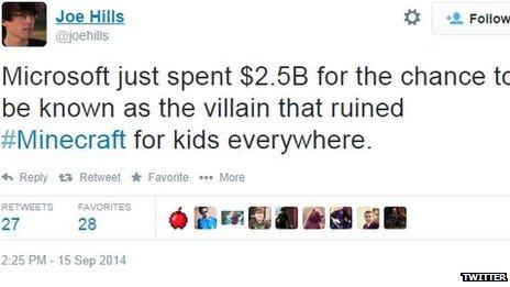 Joe Hills Tweet