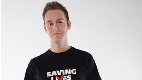 Tom Hayes, who is the editor of Beyond Positive, was 24 when he first found out he was HIV positive