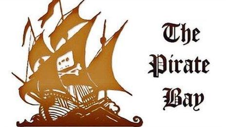 The Pirate Bay screenshot