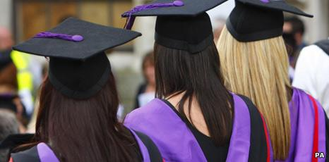 Graduates at Portsmouth University