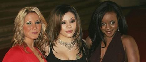 Heidi Range, Mutya Buena and Keisha Buchanan