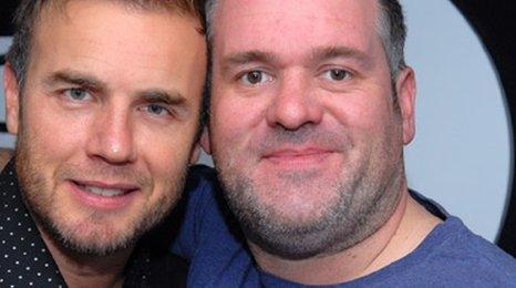Gary Barlow and Chris Moyles
