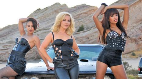 Amelle Berrabah, Heidi Range and Jade Ewen