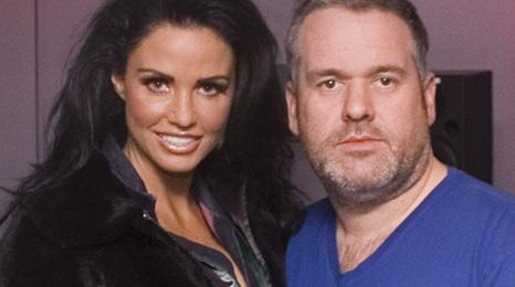 Katie Price and Chris Moyles