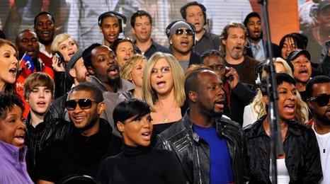 Artists record US Haiti single