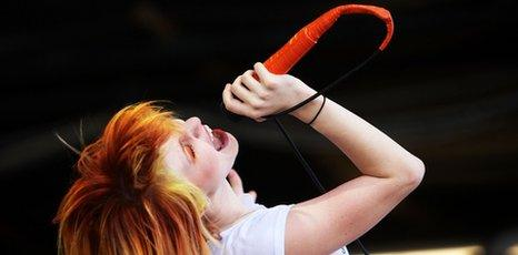 Paramore's Hayley Williams