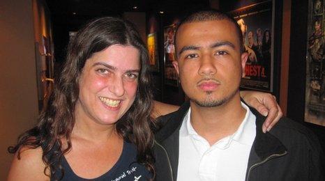 Esther Hyman and Ali Al-Masawy