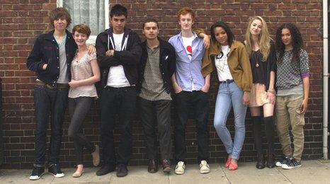 Skins cast series five