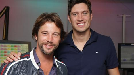 Jay Kay from Jamiroquai with Vernon Kay