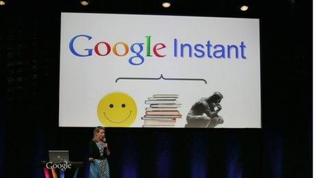 Google Instant launch