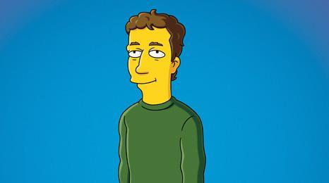 Mark Zuckerberg in The Simpsons